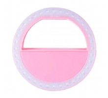 Селфи-кольцо UFT Protech Selfie Ring Light Pink (XJ-01WH)