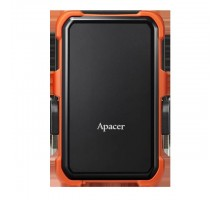 HDD накопитель Apacer AC630 2TB (AP2TBAC630T-1) USB 3.1 Orange (6351843)