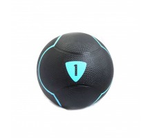 Медбол Livepro SOLID MEDICINE BALL LP8110-1 черный 1кг