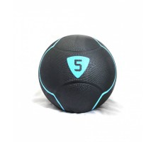 Медбол Livepro SOLID MEDICINE BALL LP8110-5 черный 5кг