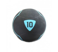 Медбол Livepro SOLID MEDICINE BALL LP8110-10 черный 10кг
