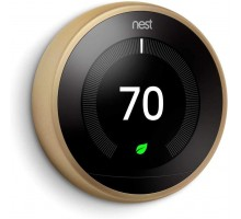 Термостат Nest Learning Thermostat 3nd Generation Stainless Gold (T3007ES)